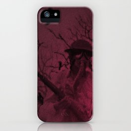 Funeral March iPhone Case