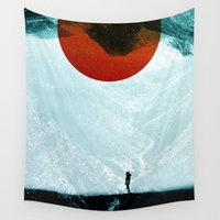 arya stark Wall Tapestries featuring Found in isolation by Stoian Hitrov - Sto