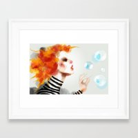 pin up Framed Art Prints featuring Pin by Dnzsea