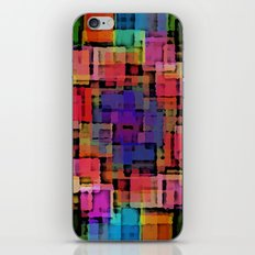 Shapes#6 iPhone & iPod Skin