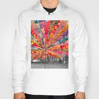toronto Hoodies featuring Blooming Toronto by Bianca Green