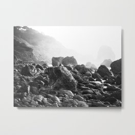 Mile Rock Beach, San Francisco  Metal Print