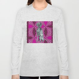 Kiki in pink Long Sleeve T-shirt