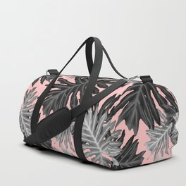 Philo Hope - Tropical Jungle Leaves Pattern #3 #tropical #decor #art #society6 Duffle Bag