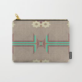 Pallid Minty Pattern 11 Carry-All Pouch