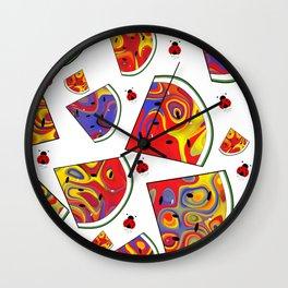 A Slice Of Summer Wall Clock
