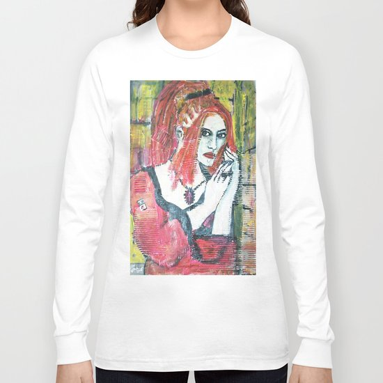 RED HOT GOTH CHICK Long Sleeve T-shirt