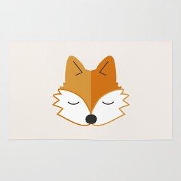 Cute Fox Head Rug