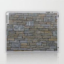 stone wall Laptop & iPad Skin