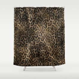 Cheetah Fur Texture #2 Shower Curtain