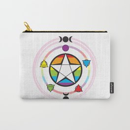 LGBT Elemental Pentagram Carry-All Pouch