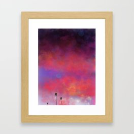 Summer Glow Framed Art Print