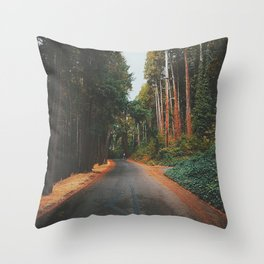 Eugene - Skinners Butte Throw Pillow