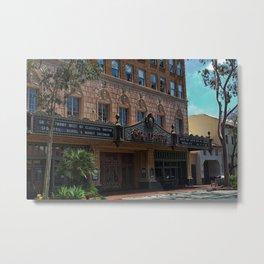 The Granada Theater Metal Print