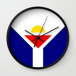Saint Martin Flag Wall Clock