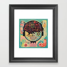 Chinese ghost story Framed Art Print