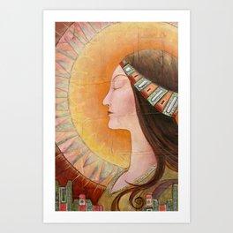 """Lady of the Harvest"" Art Print"