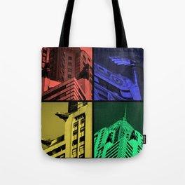 Chrysler Pop Art Tote Bag