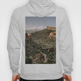 Balanced Rock Valley View in Big Bend - Landscape Photography Hoody