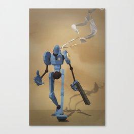 Police_Bot Canvas Print
