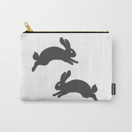 two jumping rabbits, small animals Carry-All Pouch