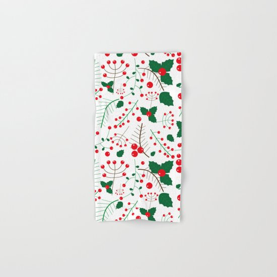 mistletoe Hand & Bath Towel