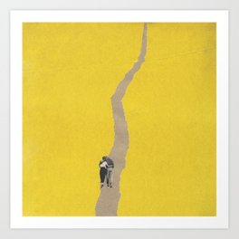 Torn Around - Path Art Print