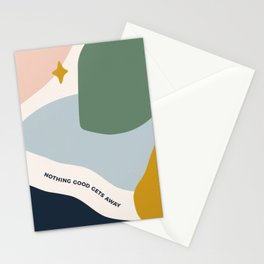 J. Steinbeck on Love Stationery Cards