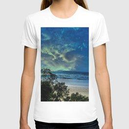 Beach behind the trees T-shirt
