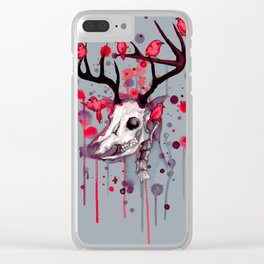 Cervidae Clear iPhone Case