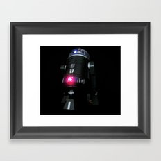 Dark Droid Framed Art Print