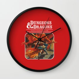 Dungeons dragon Wall Clock