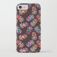 mucha iPhone & iPod Cases featuring mucha muchacha by Elminimal