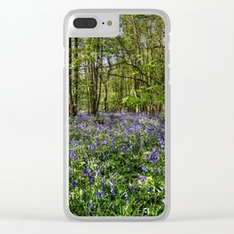 Bluebells Everdon Stubbs Wood Clear iPhone Case