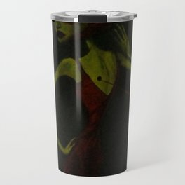 i can only think of you in the abstract Travel Mug