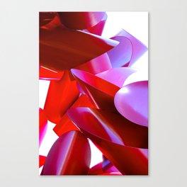 Crimson Fortress Canvas Print