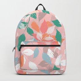 Pretty foliage brush paint design Backpack