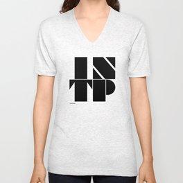 Type Type for INTP Unisex V-Neck