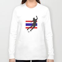 thailand Long Sleeve T-shirts featuring Thailand - WWC by Alrkeaton