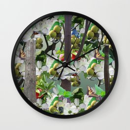 Morganton Mural Wall Clock