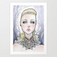 Veronica Art Print