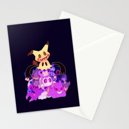 Spooky Dolls Stationery Cards