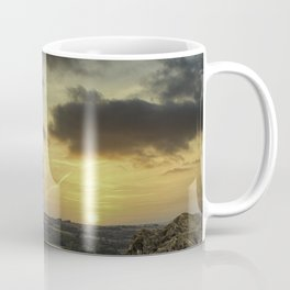 Sunset Standing Stones Coffee Mug