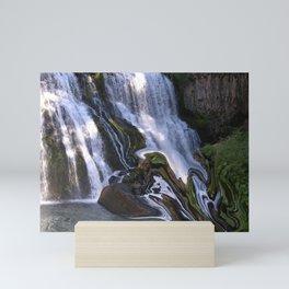 Water Maze Mini Art Print