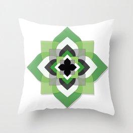 Aro Flower Throw Pillow