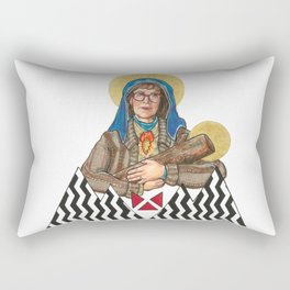 Our Log Lady Of Perpetual Help Rectangular Pillow