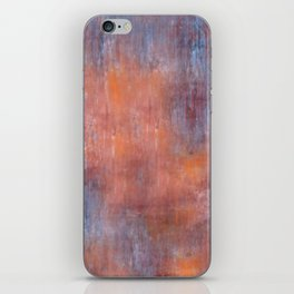 Orange Color Fog iPhone Skin