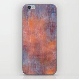Orange Color Fog iPhone Skin