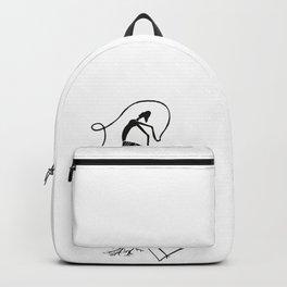 387dsn - Ballerina Backpack