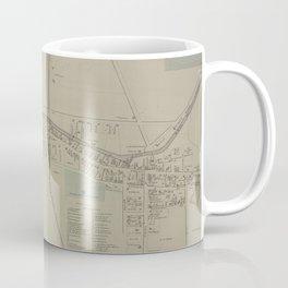 Vintage Map of Newark NY (1874) Coffee Mug